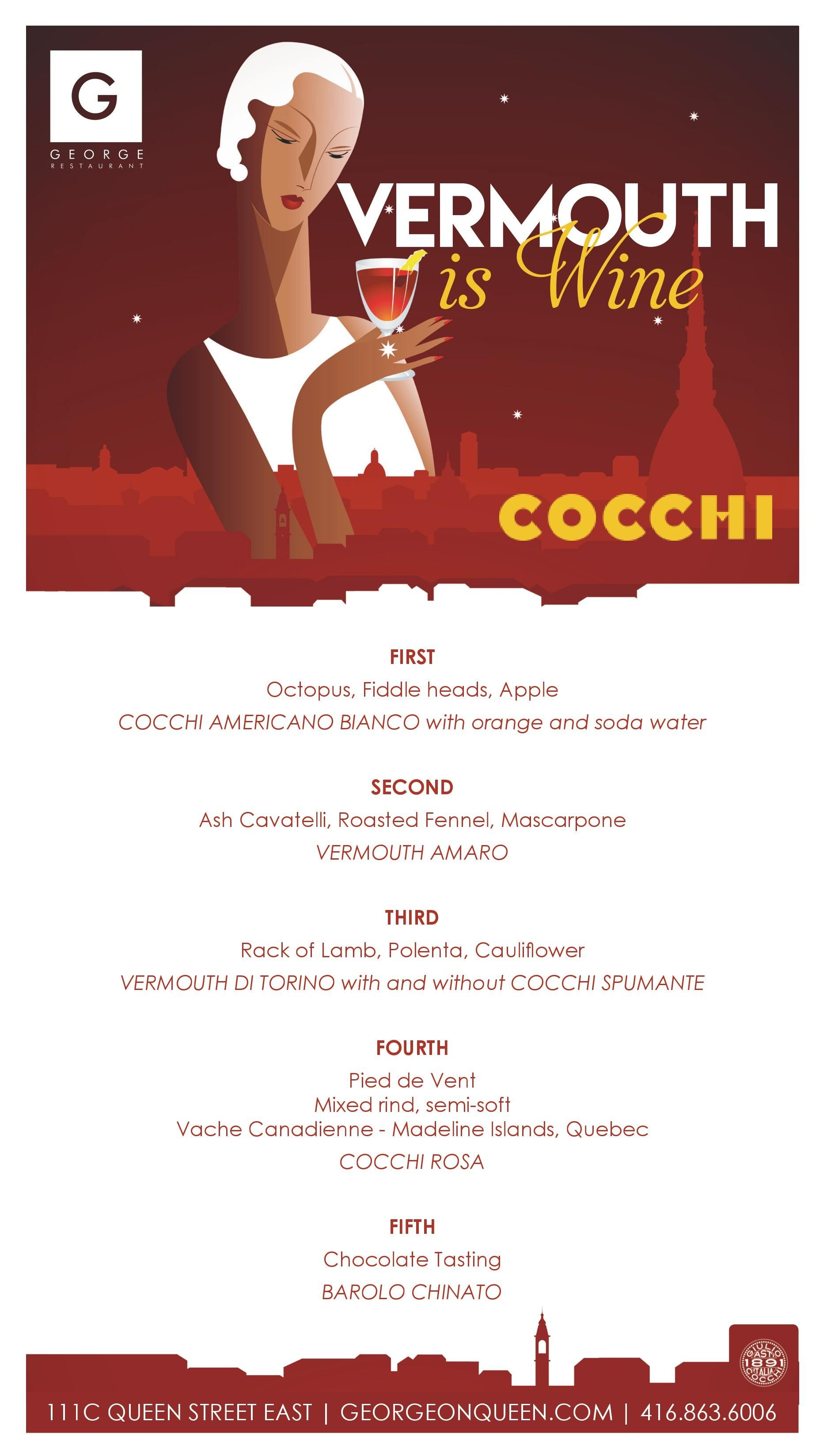 Vermouth is Wine - The Concept Dinner - Giulio Cocchi