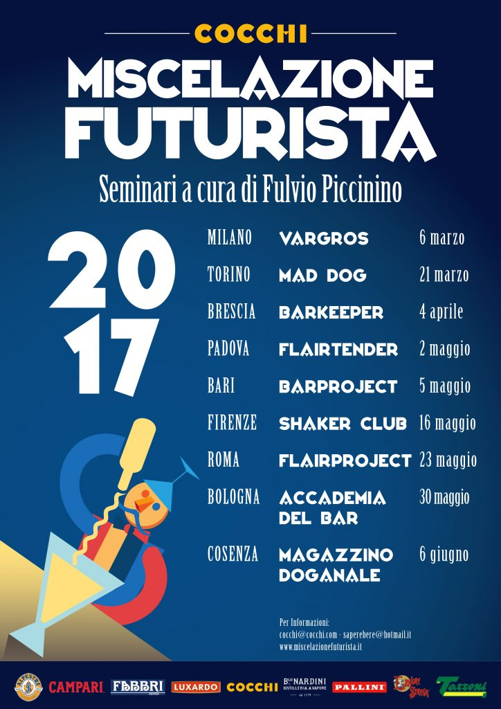Seminari di Miscelazione Futurista